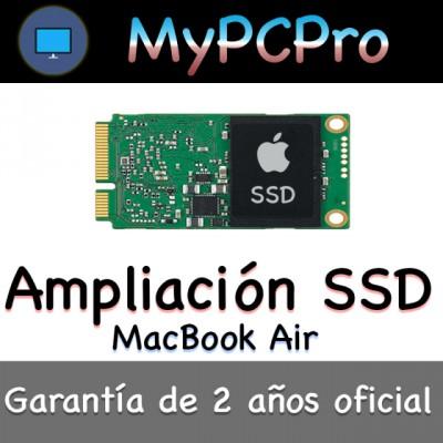 Ampliación Disco Duro SSD MacBook Pro Air 2010-2016