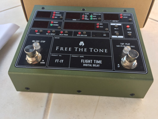 Flight Time Delay - Free The Tone FT-1Y