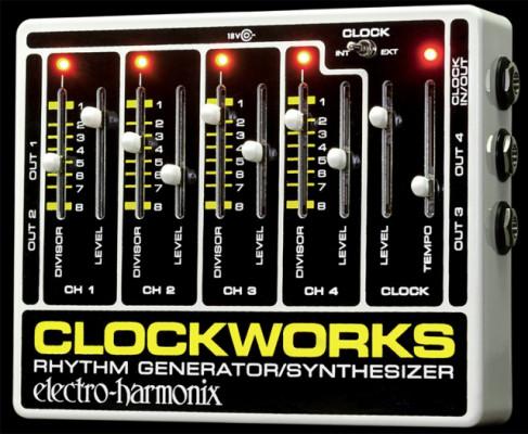 Electro armonix Clock works