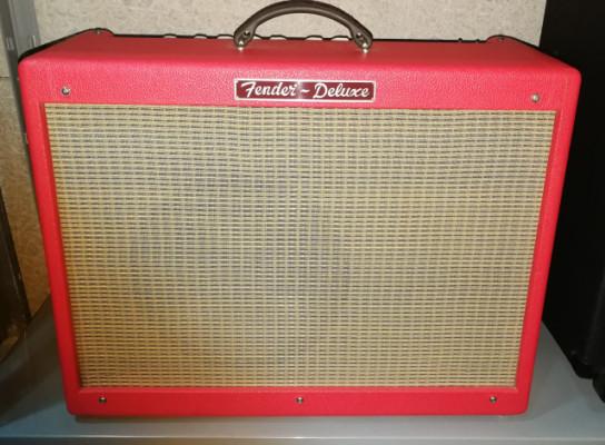 ((VENDIDO)), Fender hot rod deluxe edic. limitada red