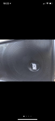 Pareja RCF HD 12-A