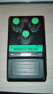 locobox analog delay ad-01 ¡Cambio!