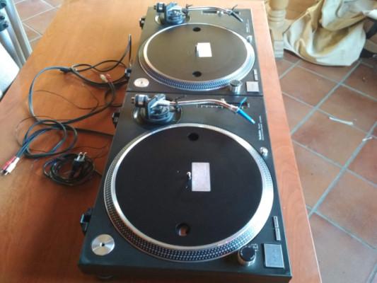 Technics 1210 MK2 + Cápsulas Ortofon