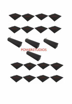 Kit promoción 16 paneles acústicos +4 trampas 100x20x20`nuevos en stock `envío incluido`