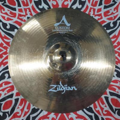 "Zildjian A custom 21"" Aniversary Ride."