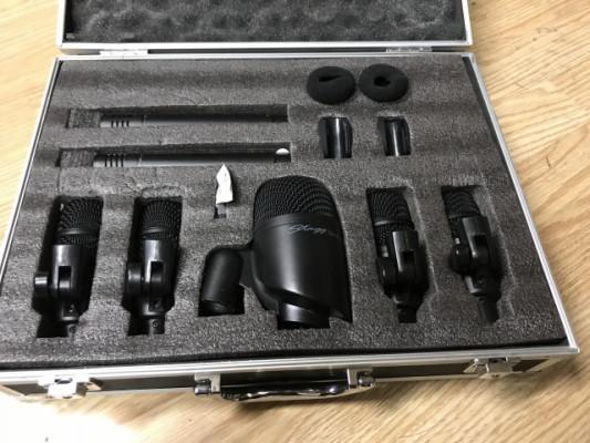 Micrófonos kit batería