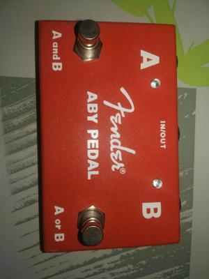 Fender A y B  Pedal