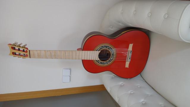 Guitarra Flamenca Andalusian Santos Hernandez 1930  nueva !!