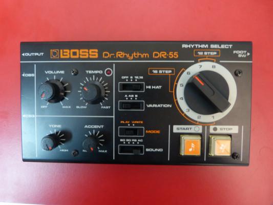 Caja de ritmos analógica programable Boss Dr. Rhythm DR-55