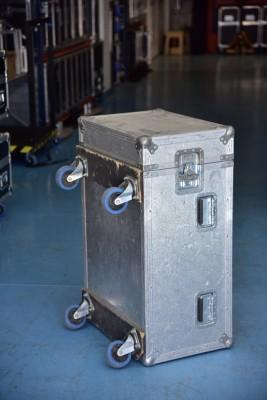 Flight case para trípodes