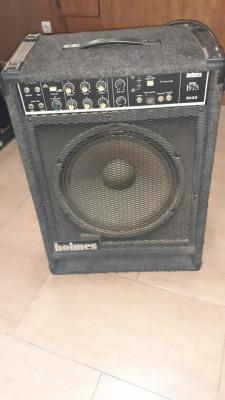 Amplificador Bajo HOLMES B-75 made in USA