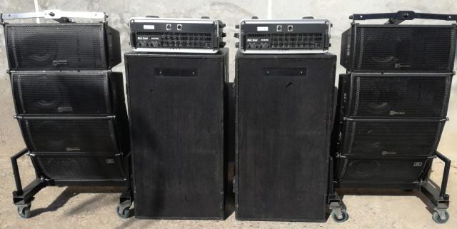 Line array BLACK SOUND
