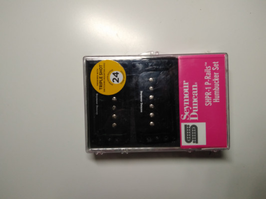 Seymour Duncan SHPR-1 P-Rail Set BK + triple shot