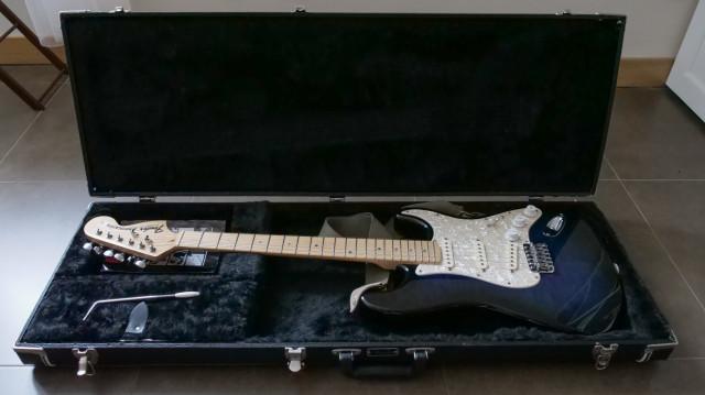 Guitarra Fender Stratocaster hecha a mano