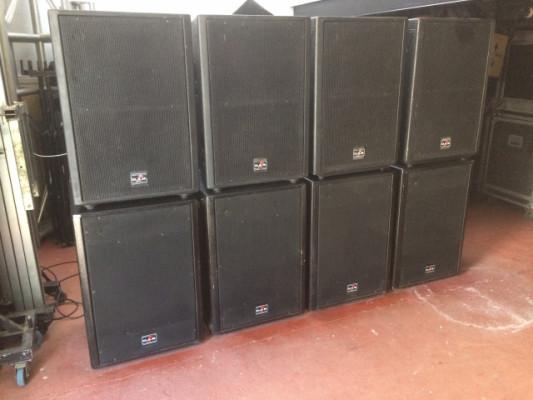Equipo de sonido 8000w Das compact 2