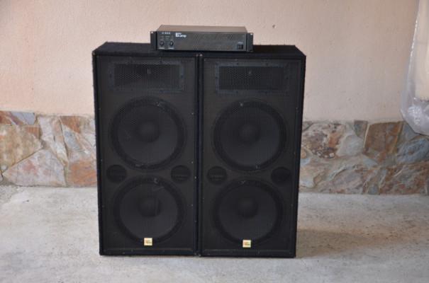 """Altavoces pasivos 15"""" para PA con amplificador"""