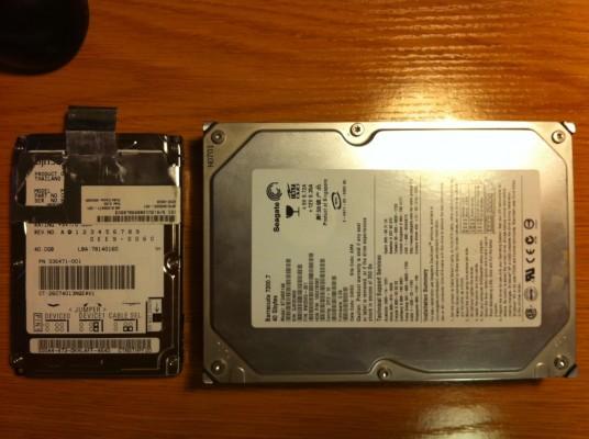 Varios Informática: Discos duros y memorias para sampler, mac, pc y más