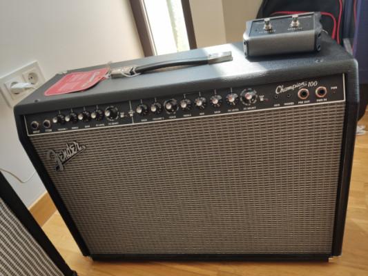 Fender Champion 100 recién comprado. Vendo o Cambio por ampli de jazz