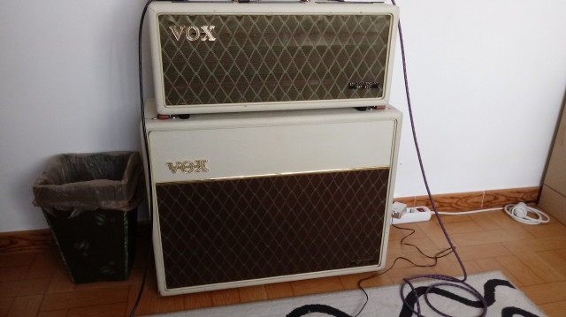 Vox AC30 Heritage Handwired Stack CAMBIOS