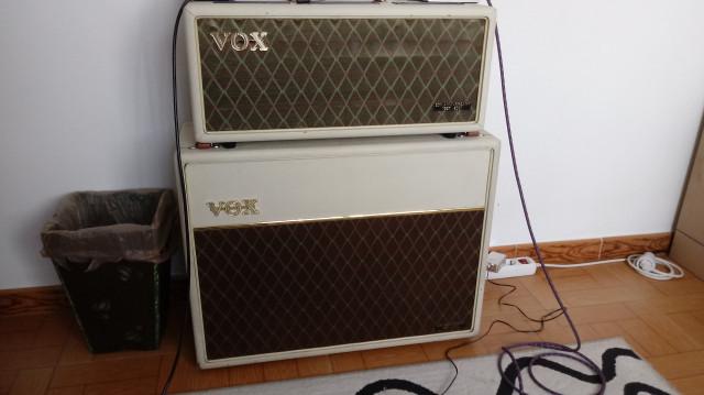 Vox AC30 Heritage Handwired y su pantalla