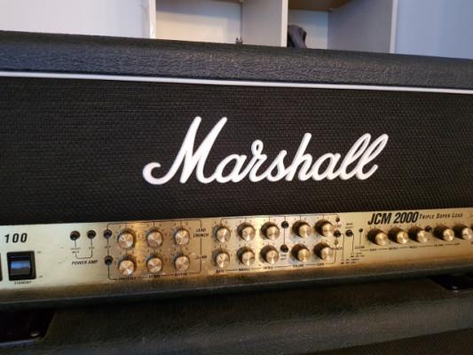 Marshall JCM 2000 tsl 100 + jcm 900 1960 lead