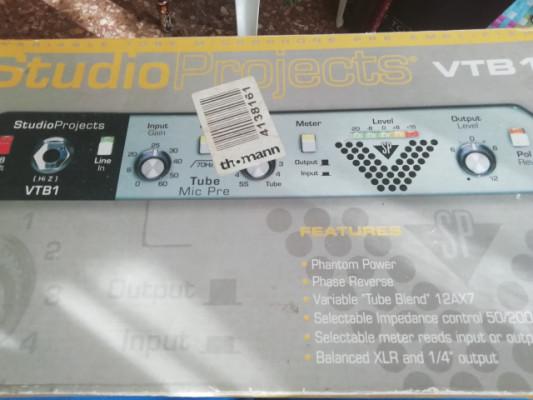 Previo de micro studio projects vtb1