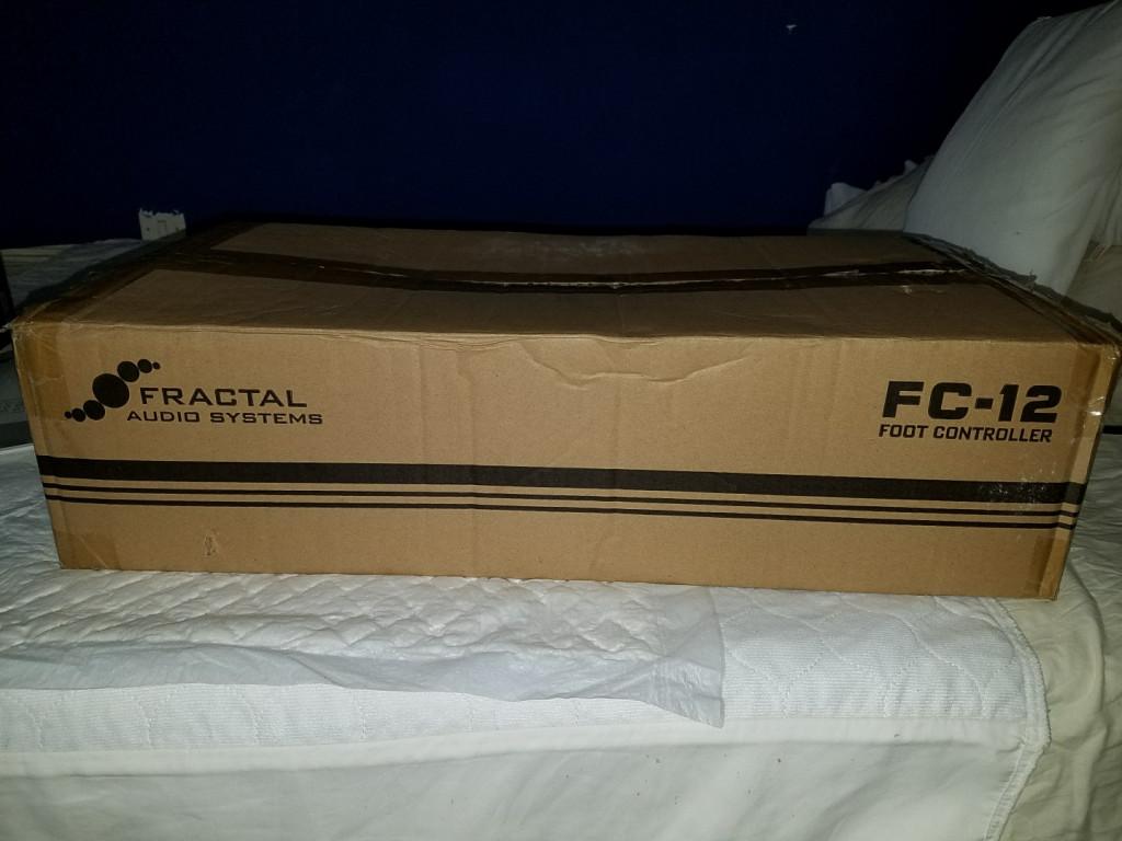 Fractal Audio FC-12 , Pedalera controladora para el Axe FX 3 , Nueva  de  segunda mano por 999 € en Madrid