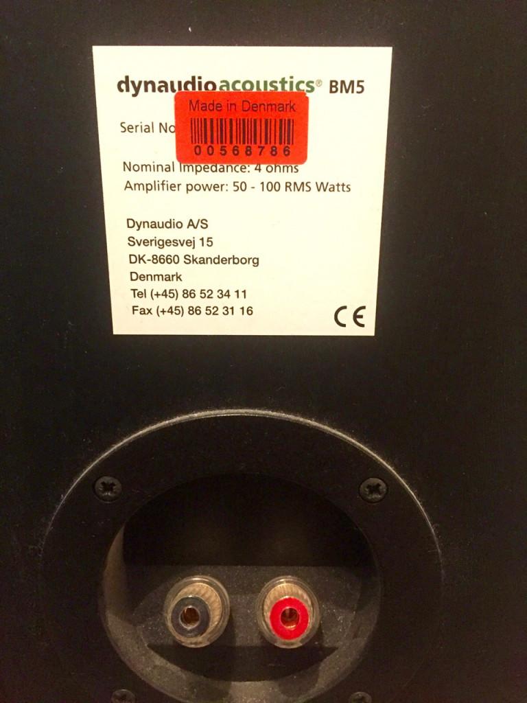 Monitores Dynaudio BM-5  Two-way Passive Nearfield Monitor  Gastos de envio  Inc  de segunda mano por 300 € en Barcelona
