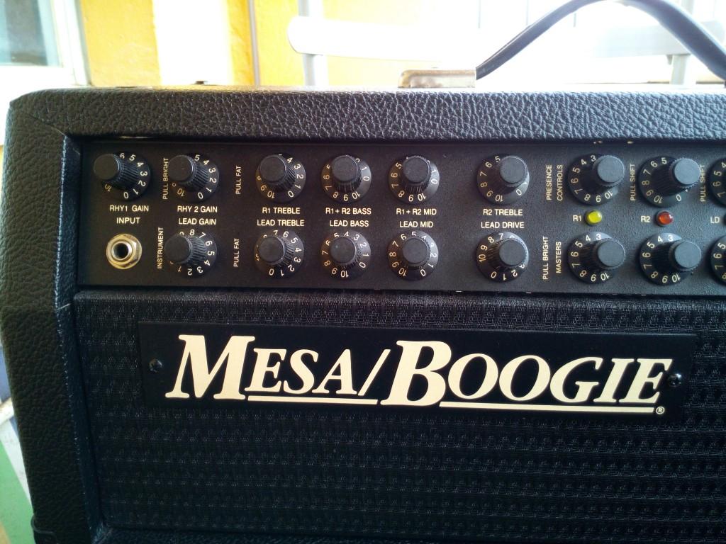 Cambio cambio cabezal mesa boogie mark 4 en ja n for Amplificadores mesa boogie