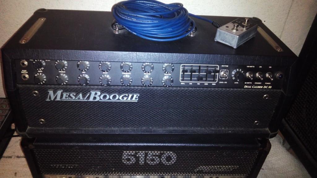 Vendo cabezal mesa boogie dual caliber dc 10 en for Amplificadores mesa boogie