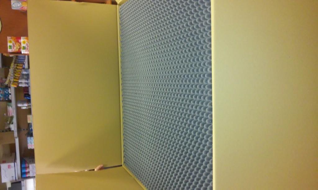 Vendo placas de insonorizaci n de estudio 4 metros - Placas de insonorizacion ...