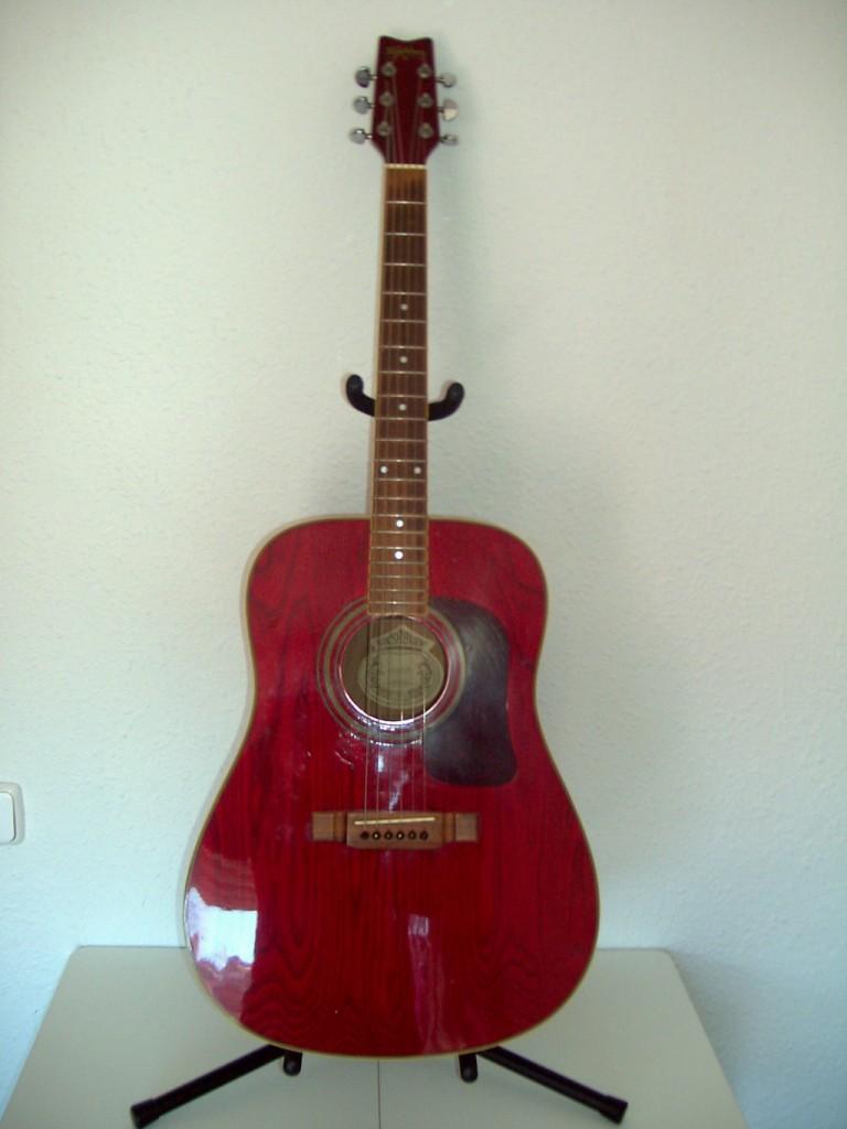 Vendo guitarra ac stica washburn en barcelona hispasonic for Guitarras barcelona