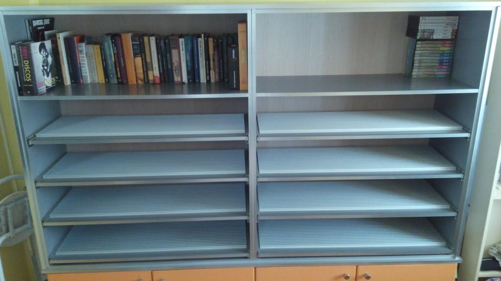 Vendo mueble armario para cd dvd libros discos en - Mueble para cds ...